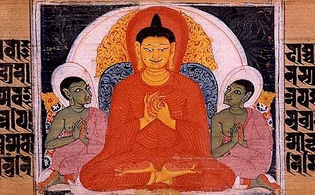 بودا در حال تعلیم چهار حقیقت شریف