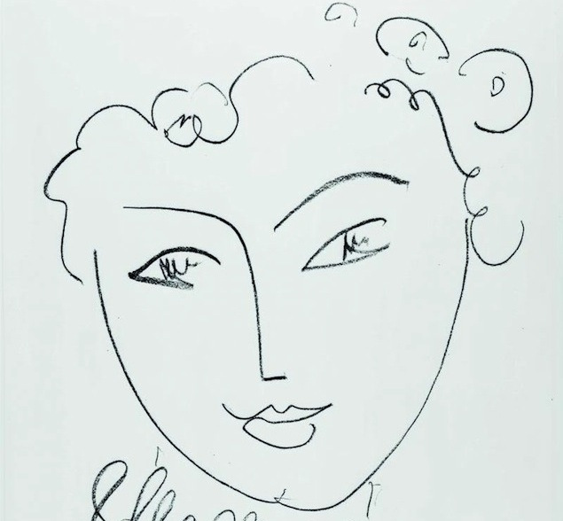 Matisse_La-pompadour_19511